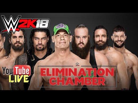 WWE 2K18 Elimination Chamber 2018 - Live Fr