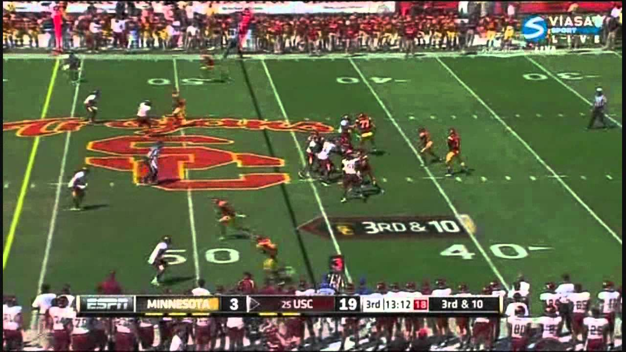 Matt Barkley vs Minnesota (2011)