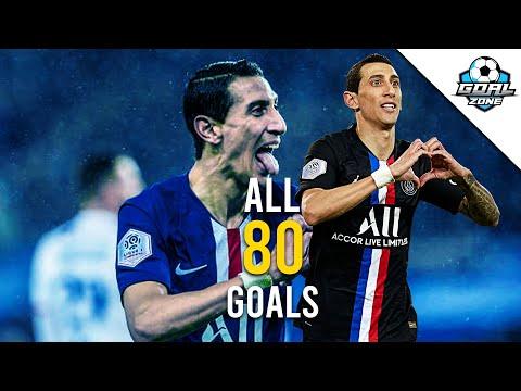 Angel Di Maria - All 80 Goals for PSG So Far