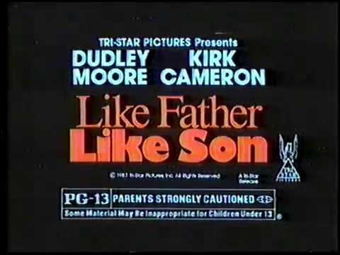 1987 Like Father Like Son TV Movie Trailer