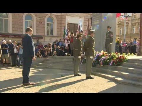 Τσεχία: Τελετή μνήμης για την απελευθέρωση από τους ναζί