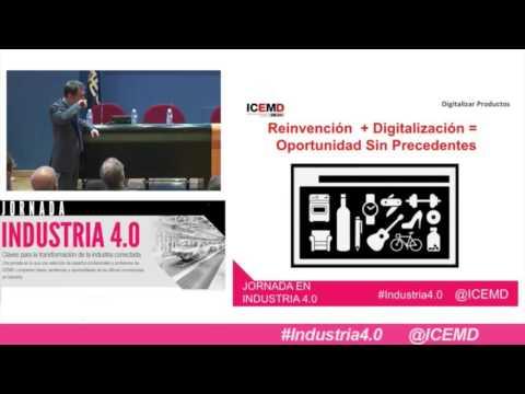 Jornada Industria 4.0: Nuevos Modelos de Negocio en la Industria – Alberto de Torres (Tecnalia) –