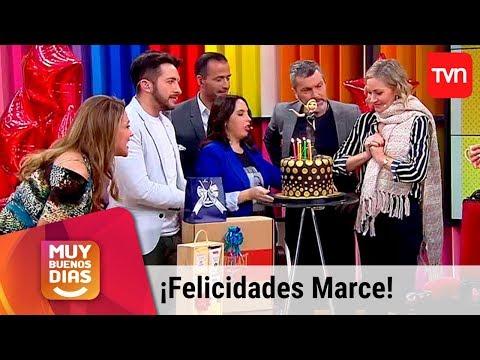 Palabras de amor - ¡Pura alegría! Así celebramos el cumpleaños de Marcela Vacarezza  Muy buenos días