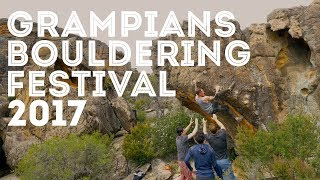 Grampians Bouldering Festival 2017 by Jackson Climbs