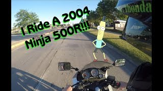 1. First Ride and Review: 2004 Ninja 500R