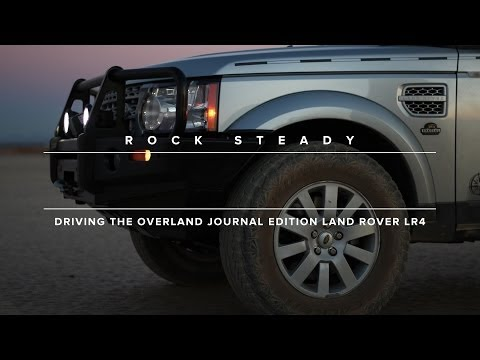 LR4 - Who better to trick out an already capable off-roader like Land Rover's LR4 than the team at Overland Journal? ARB bar, Warn winch, National Luna fridge and ...