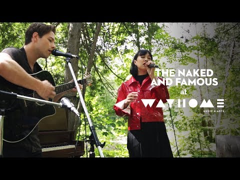 "The Naked And Famous Perform ""Young Blood"" Live At WayHome"