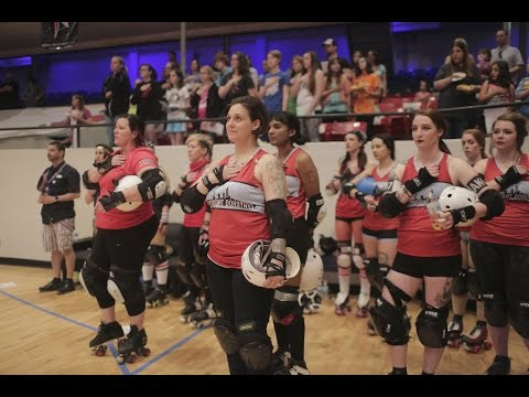 Finding her tribe on the home front — with roller derby