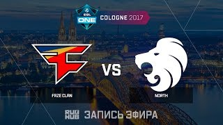 North vs FaZe, game 1