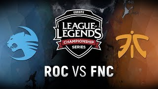Video ROC vs. FNC  - Week 3 Day 2 | EU LCS Spring Split |  Team Roccat vs. Fnatic (2018) MP3, 3GP, MP4, WEBM, AVI, FLV Juni 2018