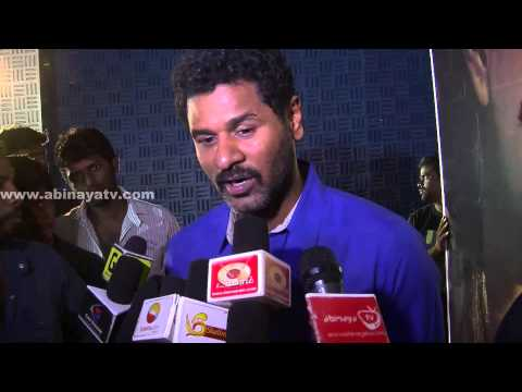 Prabhu Deva @ Kalavaadiya Pozhuthugal Press Meet