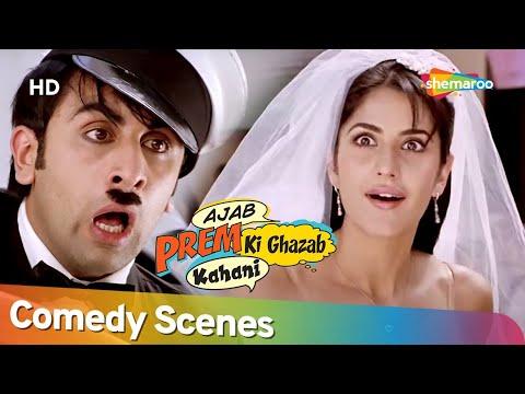 Ranbir Kapoor & Katrina Kaif Best of Comedy Scenes - Movie Ajab Prem Ki Ghazab Kahani