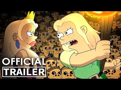 DISENCHANTMENT Part 3 Trailer (Animated Series, 2021)