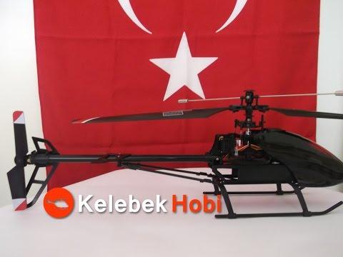 69cm Büyük Tek Rotorlu Metal   Hızlı Model   RC Helikopter