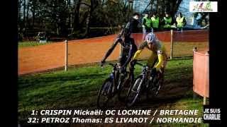 Pontchateau France  city photos gallery : Championnats de France cyclo cross Pontchâteau 2015 Cat. Juniors