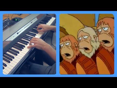 Dr Zaius piano dub