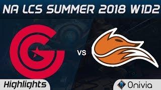 Video CG vs FOX Highlights NA LCS Summer 2018 W1D2 Clutch Gaming vs Echo Fox by Onivia MP3, 3GP, MP4, WEBM, AVI, FLV Juni 2018