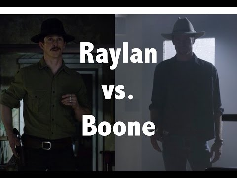 Justified - Raylan vs. Boon