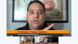 Hangout 'A Bíblia é Biblica' Com Profº Fábio Sabino, Irmão Rubens E Profº Fábio Pires