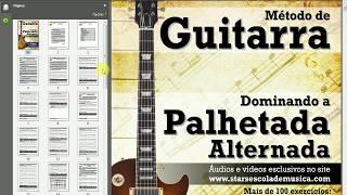Conhecendo o Método de Guitarra: Dominando a Palhetada Alternada