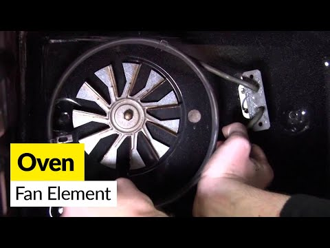 How to replace an oven element in an electric cooker