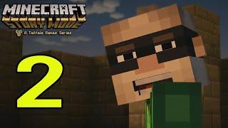 "Minecraft: Story Mode Episode 2 Walkthrough Part: 2 ""Craft"" Gameplay"