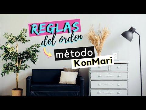 6 reglas básicas del orden del hogar   Método KonMari