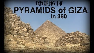 Exploring the Great Pyramids of Giza, Egypt