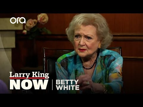 Betty White Defends The Gay Community   Betty White Interview   Larry King Now Ora TV