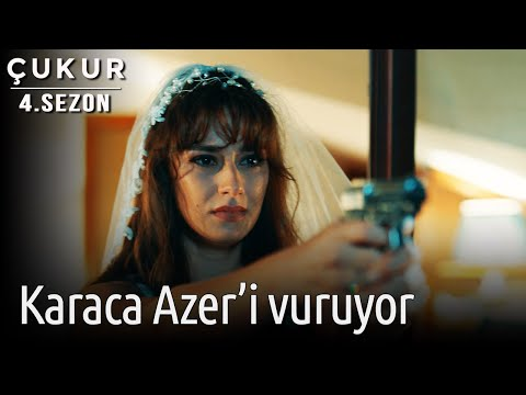 Çukur 4.Sezon 4.Bölüm - Karaca Azer'i Vuruyor