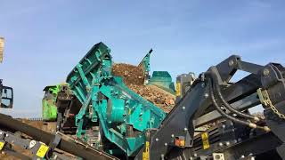 EvoQuip Cobra 230 & Powerscreen Warrior 1200 at MSB Contracting
