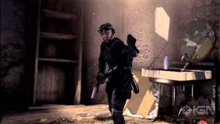 Sam Fisher Plays Splinter Cell Blacklist