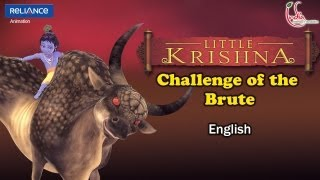 Video Little Krishna English - Episode 8 Challenge Of The Brute MP3, 3GP, MP4, WEBM, AVI, FLV Oktober 2018