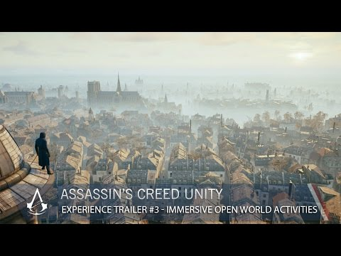 experience - In Assassin's Creed Unity, all of Paris will be at your fingertips. Creative Director Alex Amancio introduces the huge and detailed city full of opportunities and exciting side missions....