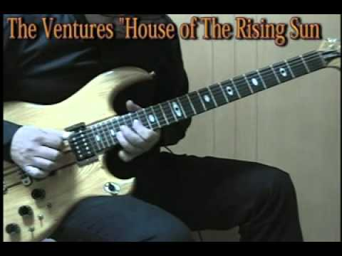 The Ventures - House of The Rising Sun (Live in Japan 1974,75,78 mix cover)
