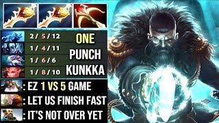 Video When All Team Feed and They Think is Over But Forgot The One Punch Man - Kunkka Divine Rapier Dota 2 MP3, 3GP, MP4, WEBM, AVI, FLV Juli 2018
