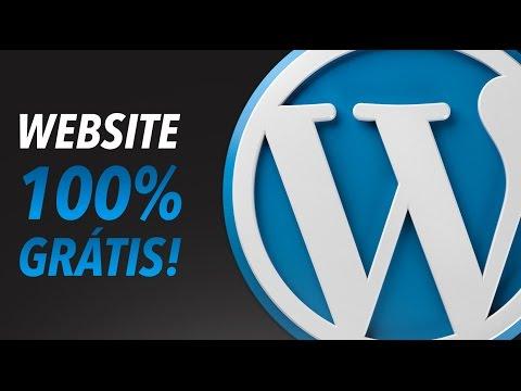 WebDesign // Criar um WebSite/Blog WordPress Totalmente Gratuito