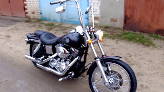8. Harley-Davidson Dyna Wide Glide 2005 FXDWG