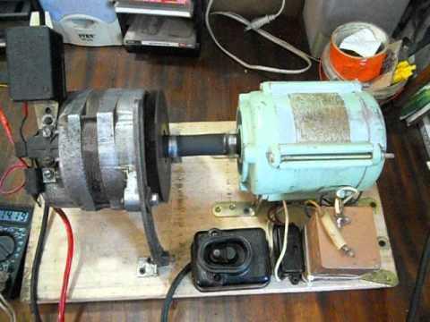 Как сделать генератор с электромотора