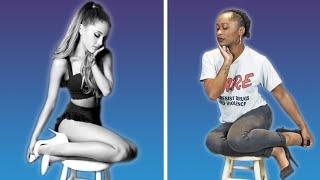 Video We Tried The Ariana Stool Sitting Challenge MP3, 3GP, MP4, WEBM, AVI, FLV Agustus 2018