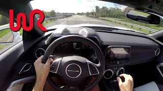 7. 2016 Chevrolet Camaro SS (6MT) - WR TV POV Test Drive