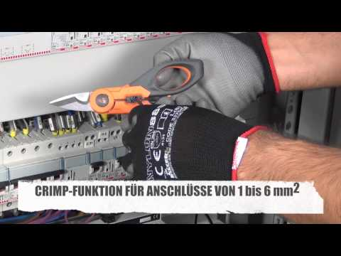 F40 KABELSCHERE CRIMP-FUNKTION