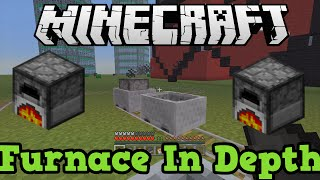 Minecraft Xbox PS4 Furnace / Smelting In Depth Tutorial
