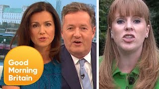 Subscribe now for more! http://bit.ly/1NbomQaPiers and Susanna press Angela Rayner for answers over Labours apparent 'U-turn' on clearing student debt.Broadcast on 25/07/17Like, follow and subscribe to Good Morning Britain!The Good Morning Britain YouTube channel delivers you the news that you're waking up to in the morning. From exclusive interviews with some of the biggest names in politics and showbiz to heartwarming human interest stories and unmissable watch again moments. Join Susanna Reid, Piers Morgan, Ben Shephard, Kate Garraway, Charlotte Hawkins and Sean Fletcher every weekday on ITV from 6am.Website: http://bit.ly/1GsZuhaYouTube: http://bit.ly/1Ecy0g1Facebook: http://on.fb.me/1HEDRMbTwitter: http://bit.ly/1xdLqU3http://www.itv.com