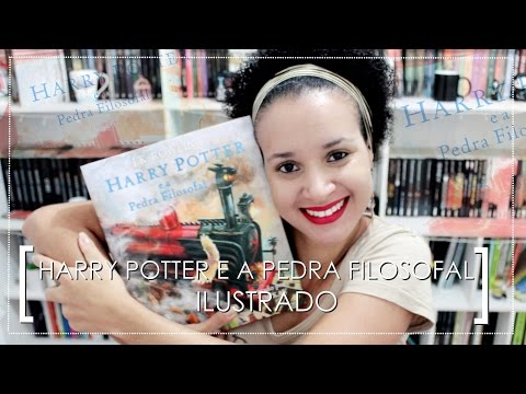 Harry Potter e a Pedra Filosofal ILUSTRADO | Por Raphaela Barros