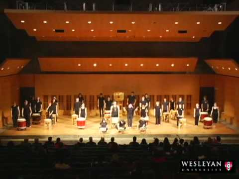 East Asia - Excerpts from Wesleyan World Music concert of Asian music, with classical Chinese music, Korean music, Japanese music, Japanese Taiko drums. For more informa...