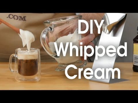 DIY Whipped Cream In 60 Seconds