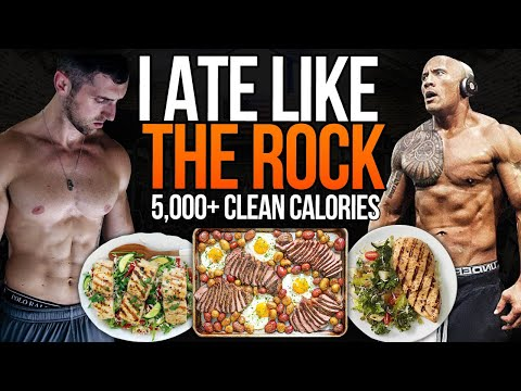 "I Tried Dwayne ""THE ROCK"" Johnson's DIET... (IT SUCKED)"