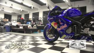 6. 2006 Honda CBR600RR Red Bull Edition