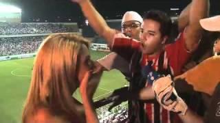 São Paulo x Santa Cruz com: Tucano Ceni e Babi Santos x Colo colo com: Péle e Nicole.